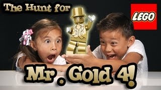 Download The Hunt for MR. GOLD PART 4 - BE THE GOLD! LEGO Series 10 Minifigure Unboxing #bethegold Video