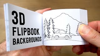 Download How to make 3D FLIPBOOK BACKGROUNDS (Parallax Effect) Video