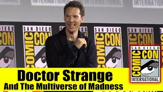 Download DOCTOR STRANGE AND THE MULTIVERSE OF MADNESS | 2019 Comic Con Panel (Benedict Cumberbatch) Video