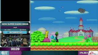 Download New Super Mario Bros. by altabiscuit in 0:26:22 - SGDQ2016 - Part 10 Video