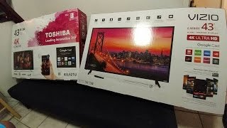Download Should you buy a budget 4K TV? Dis or Dat: Toshiba 43″ 4K vs Vizio 43″ 4K Budget TV Battle Video