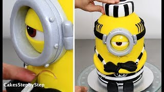 Download How To Make a MINION CAKE by Cakes StepbyStep Video