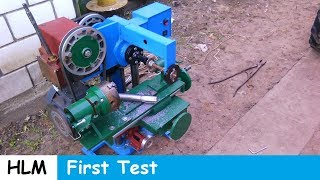 Download Homemade milling machine part 11 Video