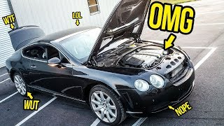 Download Everything Wrong With My $11,000 Bentley Continental GT Video