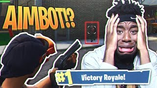 Download MY DUOS PARTNER IS A FORTNITE HACKER... WEIRDEST Fortnite: Battle Royale DUOS VICTORY EVER! Video