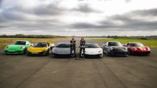 Download THE ULTIMATE SUPERCAR DRAG RACE - PART III Video
