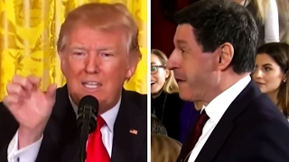 Download Trump's Insults BBC Reporter Before He Asks a Question, Screams at Him, Goes On a Crazy Rant Video