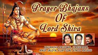 Download Prayer Bhajans of Lord Shiva I ANURADHA PAUDWAL, HARIHARAN, ANUP JALOTA I Full Audio Songs Juke Box Video
