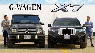 Download 2019 BMW X7 vs Mercedes G-Class // Battle Of The Ballers Video