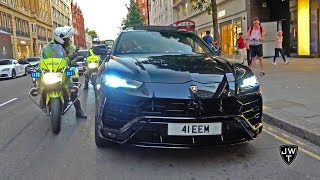 Download Lord Aleem's 2018 Lamborghini Urus PULLED OVER By POLICE in London! REVS & More Exhaust Sounds! Video
