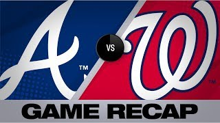Download Braves clinch a postseason berth in 10-1 win | Braves-Nationals Game Highlights 9/14/19 Video
