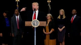 Download President Trump visits new African American museum Video