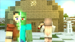 Download First Zombie: FULL ANIMATION - Minecraft Animation Movie Video