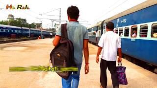 Download Entering Sealdah-Muzaffarpur Fast Passenger departing Purvanchal express,KNJ Local at NH Jn. Video