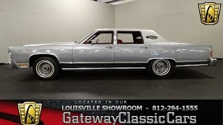 Download 1979 Lincoln Continental Town Car - Louisville Showroom - Stock # 1472 Video
