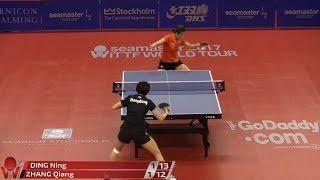 Download 2017 Swedish Open (WS-QF) DING Ning Vs ZHANG Qiang [Full Match/720p] Video