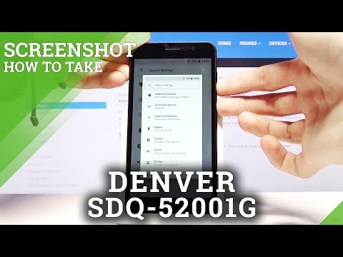 How to Take Screenshot on DENVER SDQ-52001G – Capture Screen