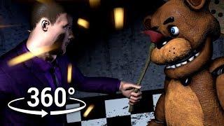 Download 360°| Purple Guy destroys Freddy Fazbear - Animatronic Prospect View [SFM] (VR Compatible) Video