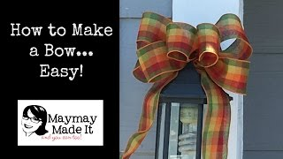 Download You Can Make Beautiful Bows EASY Video