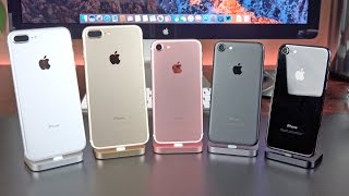 Download Apple iPhone 7 vs 7 Plus: Unboxing & Review (All Colors) Video