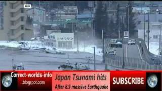 Download Japan tsunami hits After 8.9 massive Earthquake [livetvstreamonline] Video