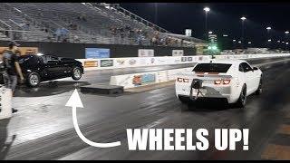 Download Turbo Camaro VS Nitrous Mustang GRUDGE RACE!!!!! Video