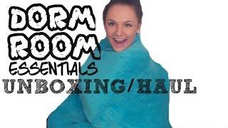 Download DORM ROOM UNBOXING/HAUL (FT. DORMITUP) Video