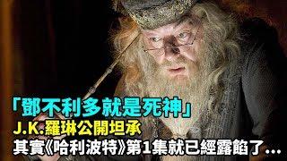 Download J.K.羅琳公開坦承「鄧不利多就是死神」!其實《哈利波特》第1集就已經露餡了... Video
