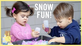Download PLAY | 3 ″Snow″ Activities! Video