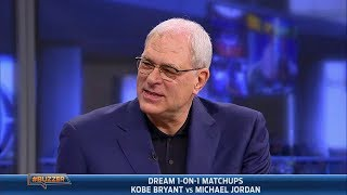 Download Phil Jackson settles the Jordan vs. Bryant debate (2014.01.23) Video