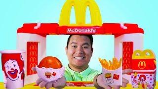 Download Mcdonalds Restaurant Fast Food Hamburger Toy Store Pretend Play Kids Toys Video