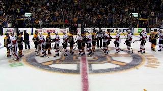 Download Senators and Bruins shake hands following Game 6 Video