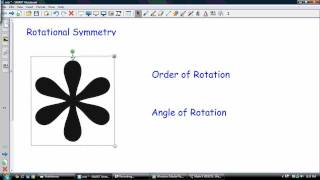 Download Rotational Symmetry, Order and angle of Rotation Video