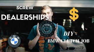 Download SCREW THE DEALERSHIP! DIY BMW M3 Clutch Change Video