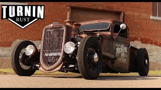 Download 1935 Ford Rat Rod ″MoonShine″ | A Turnin Rust Extra | Shep Shepherd's 35 Ford Video