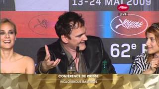 Download Inglourious Basterds Full Press Conference - Cannes Film Festival 2009 Video