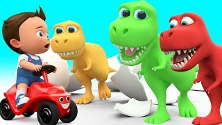 Download Baby Fun Learning Colors for Children with Cartoon Dinosaur T Rex 3D Kids Toddler Educational Video Video