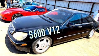 Download Buying a $1680 IAA 2001 Mercedes S600 - Does it run?? PT1 Video