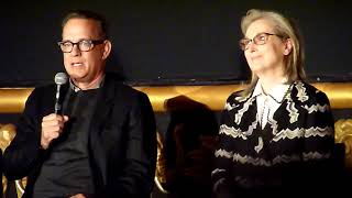 Download 'The Post': Meryl Streep & Tom Hanks on the love between Ben Bradlee and Kay Graham Video