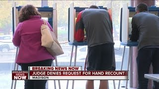 Download Judge denies request for hand recount Video