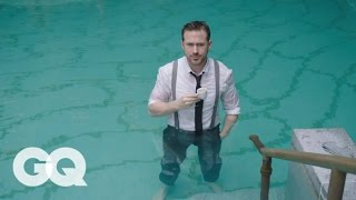 Download Ryan Gosling Goes Swimming in his Ralph Lauren Suit | GQ Video