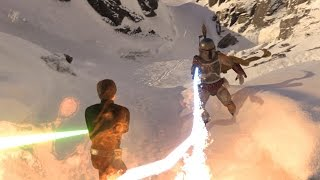 Download Star Wars Battlefront: Luke vs Boba Fett Epic Battle! Video