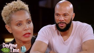 Download Jada Pinkett Smith REACTS as Common OPENS UP about his SECRETS & MORE!! Video