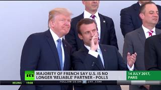 Download Reliable Partner? Majority of French say US no longer 'trusted ally' - polls Video