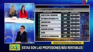 Download Estas son las carreras profesionales más rentables en el Perú Video