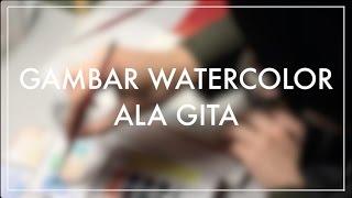 Download Menggambar Watercolor ala Gita Video