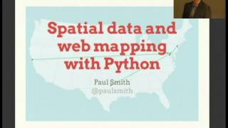 Download Spatial data and web mapping with Python Video