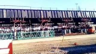 Download Керченский мост сегодня 23.01.2017/ Обзор с новой площадки хранения материала/ Элементы АД моста Video