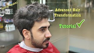 Download Advanced Haircut for Men - Hair Transformation Tutorial - Brand New Hairstyle For men 2018 #24 Video