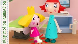 Download Holly fell off a skateboard, Holly hurt her leg Ben and Holly toys animation Video